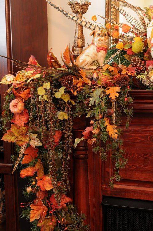Decorazione scale autunno 14