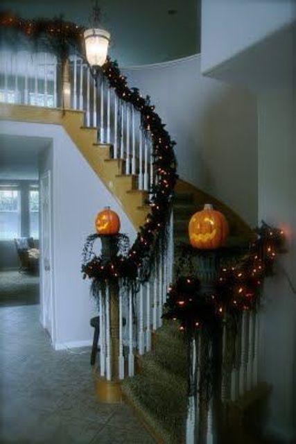 Decorazione scale autunno 22