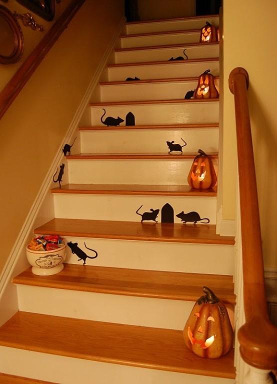 Decorazione scale autunno 30