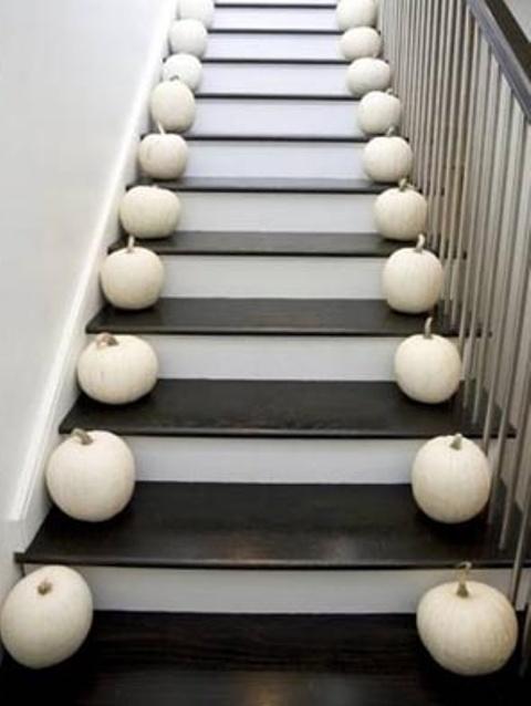 Decorazione scale autunno 4