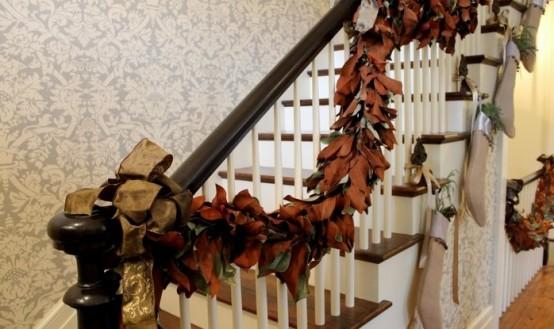 Decorazione scale autunno 6