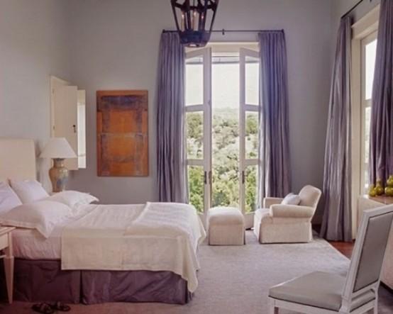Idee camera da letto viola 15