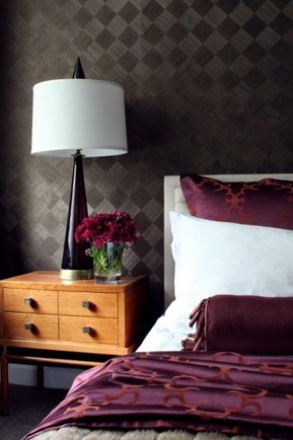 Idee camera da letto viola 2