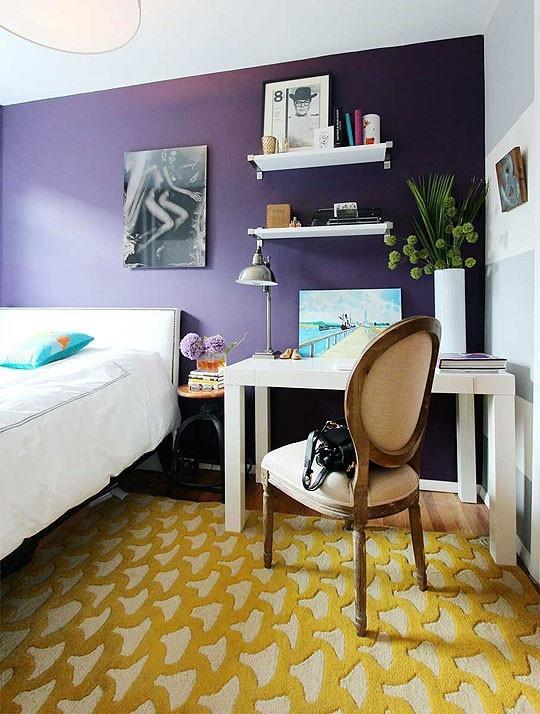 Idee camera da letto viola 33