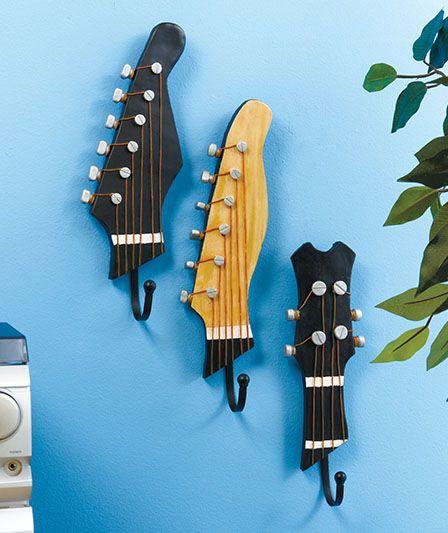 Riciclo creativo chitarra