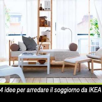 arredare il soggiorno da IKEA