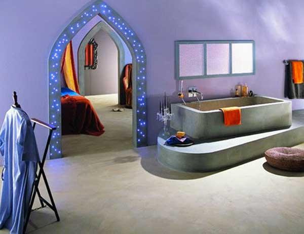 bagno orientale 15 idee per arredare un bagno stile orientale. Black Bedroom Furniture Sets. Home Design Ideas