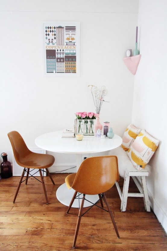 Piccola sala da pranzo: 44 idee per arredarla con stile