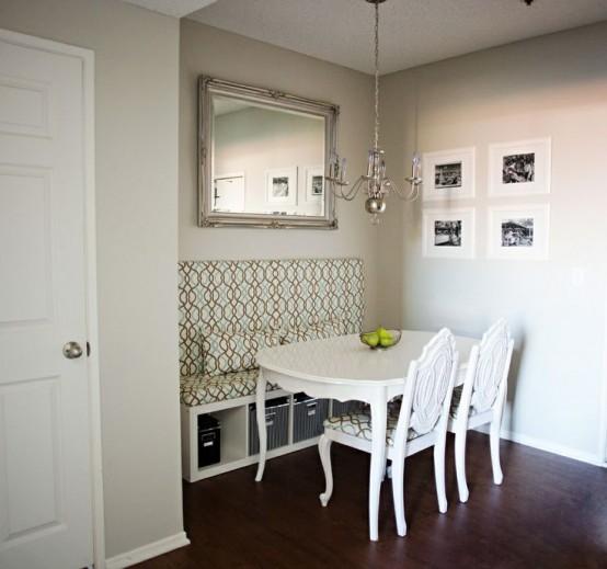 Dining Idea Room Storage: Piccola Sala Da Pranzo: 44 Idee Per Arredarla Con Stile