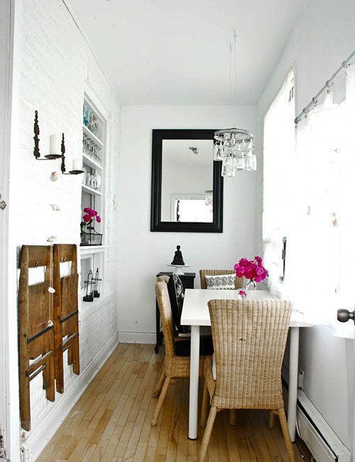 Piccola sala da pranzo 44 idee per arredarla con stile for Arredamenti sala da pranzo