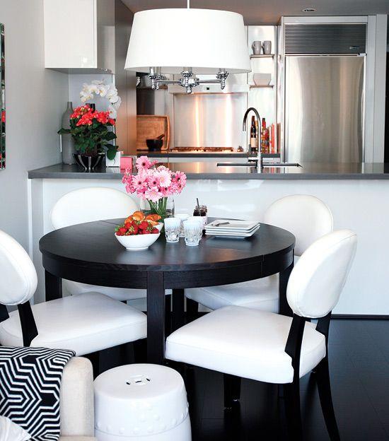 piccola sala da pranzo: 44 idee per arredarla con stile - Arredare Soggiorno Con Sala Da Pranzo 2