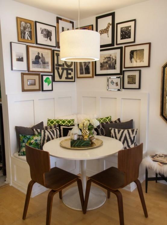 Super Piccola sala da pranzo: 44 idee per arredarla con stile LU19