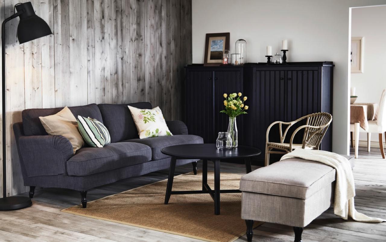 Arredare il soggiorno da ikea ecco 24 bellissimi soggiorni for Ikea livingroom ideas