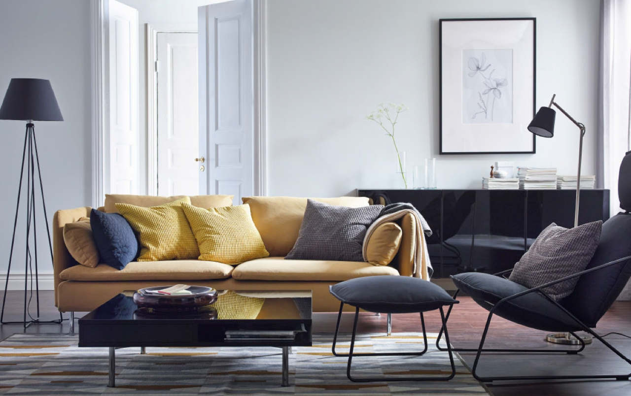 decorating your living room from ikea: here's 24 beautiful stays - Soggiorno Ikea Immagini 2