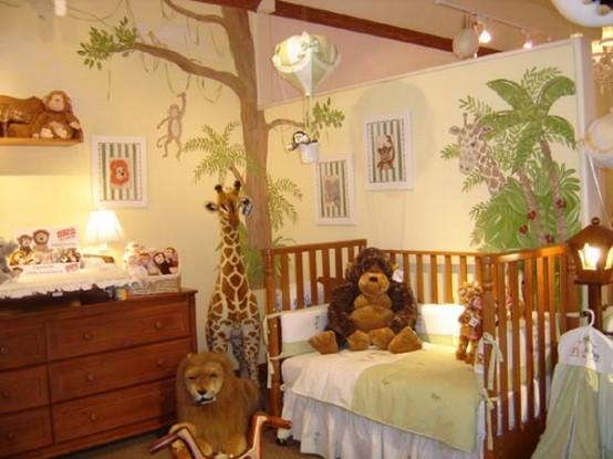 Arredare camera bambino 25 idee in tema foresta for Idea design casa