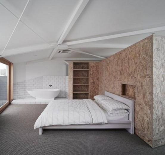 badewanne im schlafzimmer: 26 zimmer mit badewanne, Schlafzimmer entwurf