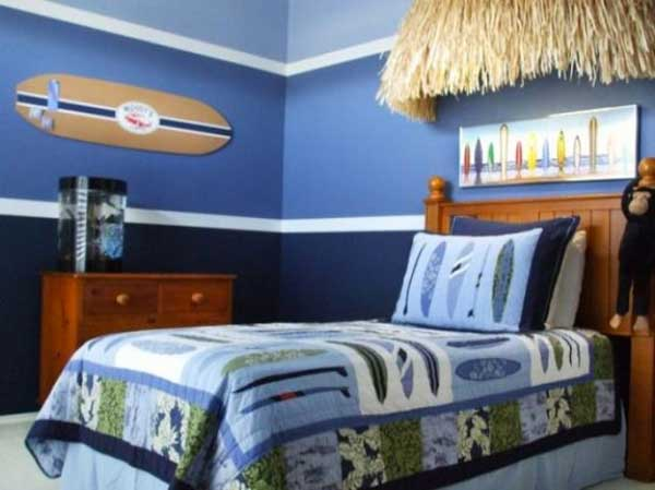 7 Inspiring Kid Room Color Options For Your Little Ones: Decorare La Cameretta: 32 Idee Camerette A Tema Mare