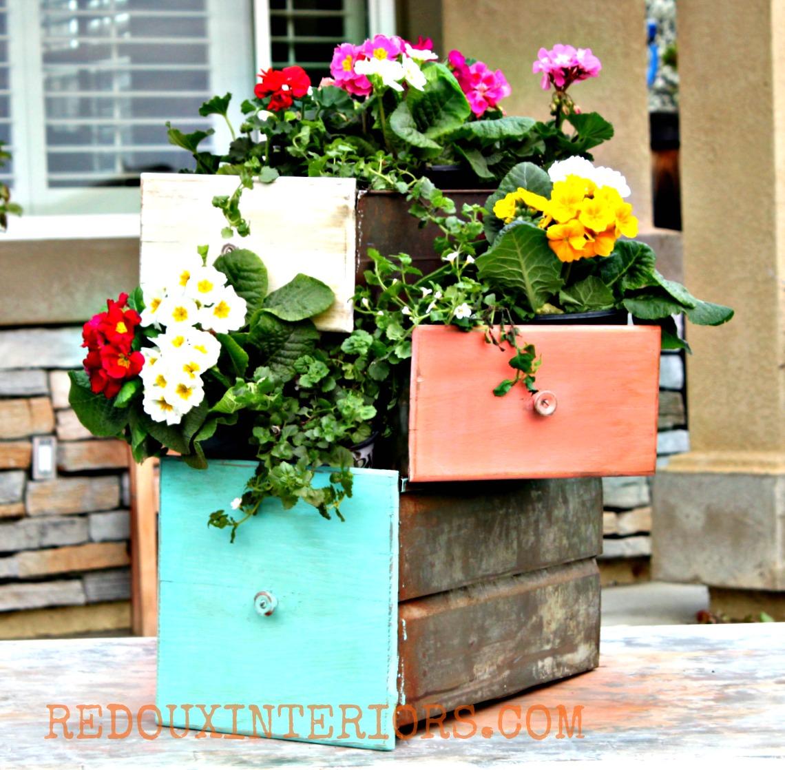 cassettiera fiori