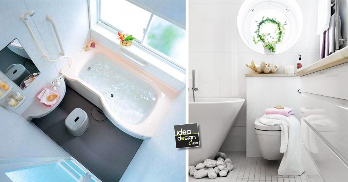 Arredare un bagno piccolo 26 idee da scoprire for Arredo bagno piccole dimensioni