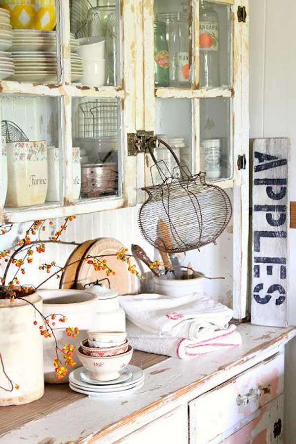 Decorazione cucina 35 idee per una decorazione autunnale - Decorare frigorifero ...