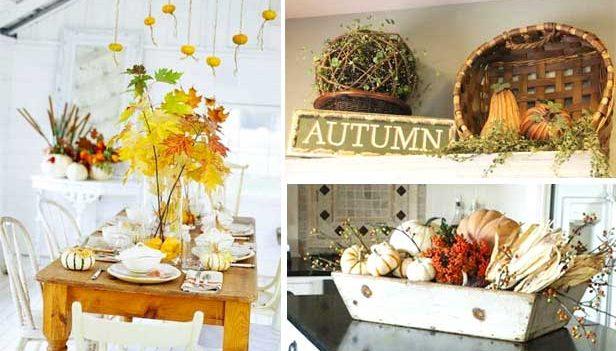 Küche Dekoration Ideen für die Dekoration Herbst: 35