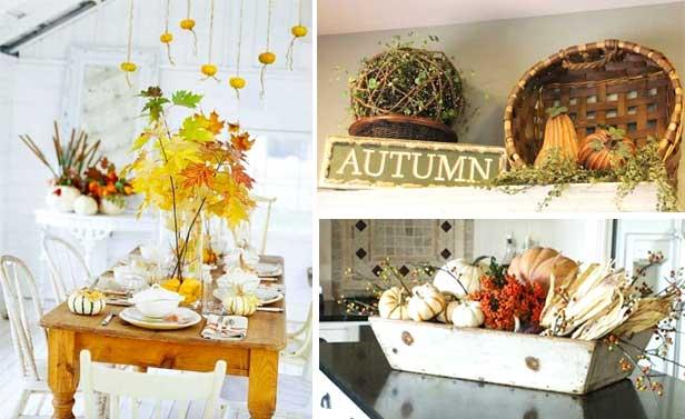 Decorazione cucina 35 idee per una decorazione autunnale for Idea design casa