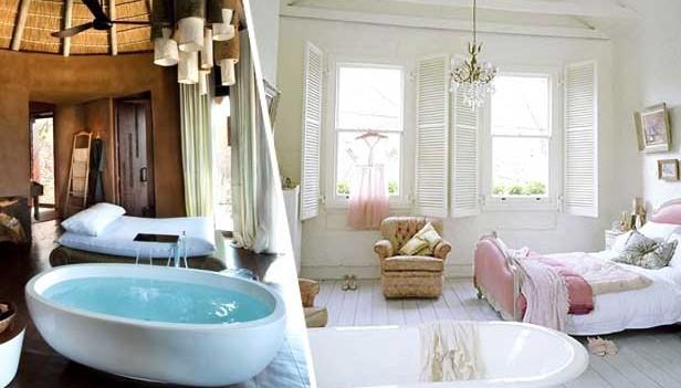Vasca in camera da letto: 26 camere da letto con vasca