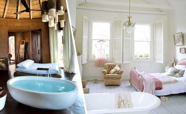 Vasca in camera da letto 26 camere da letto con vasca - Camere da bagno ...