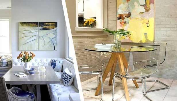 Piccola sala da pranzo 44 idee per arredarla con stile - Zona pranzo design ...