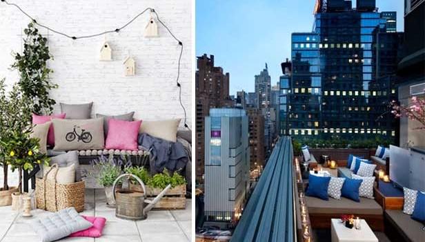 arredare il terrazzo con stile