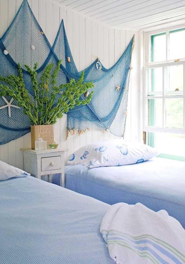 Decorare la cameretta 32 idee camerette a tema mare - Idea camera da letto ...