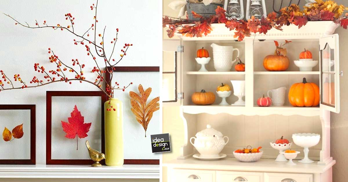 Decorare casa autunno: 30 idee creative per decorare casa