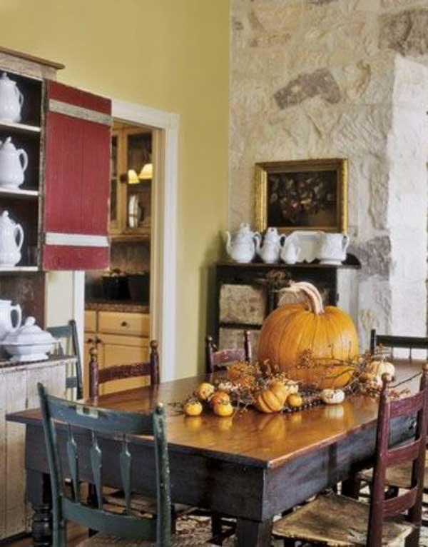 decorare-la-cucina-in-autunno