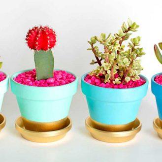 Cache pot fai da te ecco 20 idee originali n 5 14 17 - Decorare vasi terracotta ...