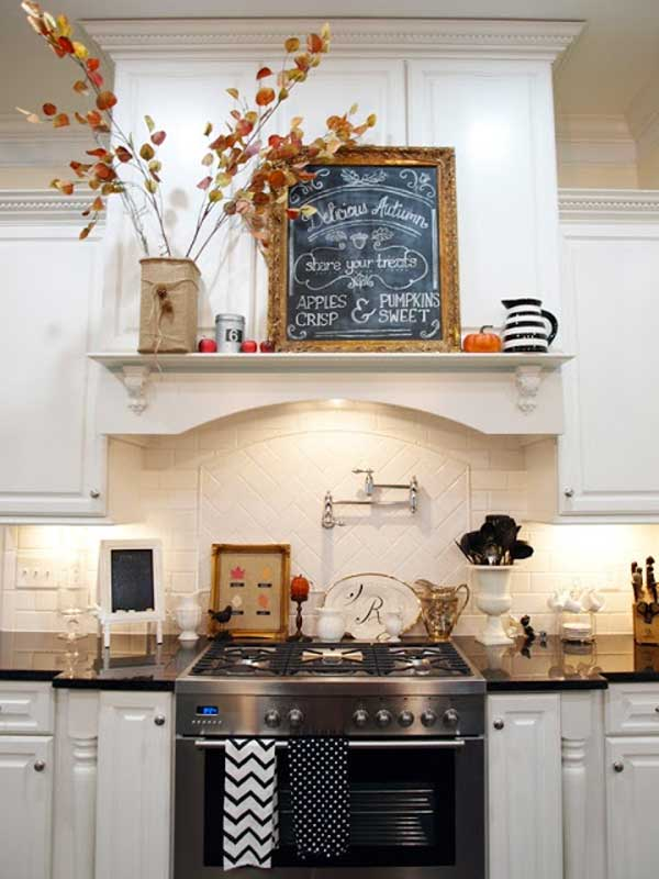 Decorate The Kitchen In The Fall U2013 Idea # 21