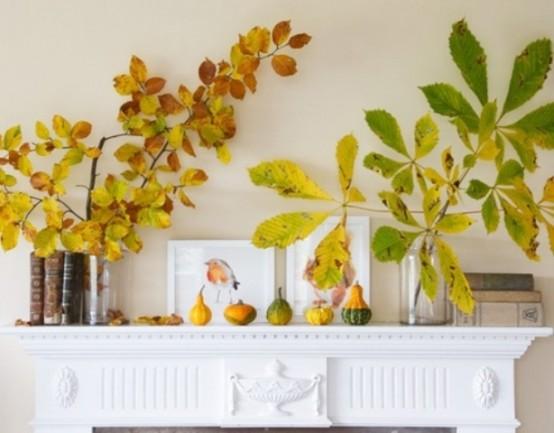 decorazioni autunnali per la casa
