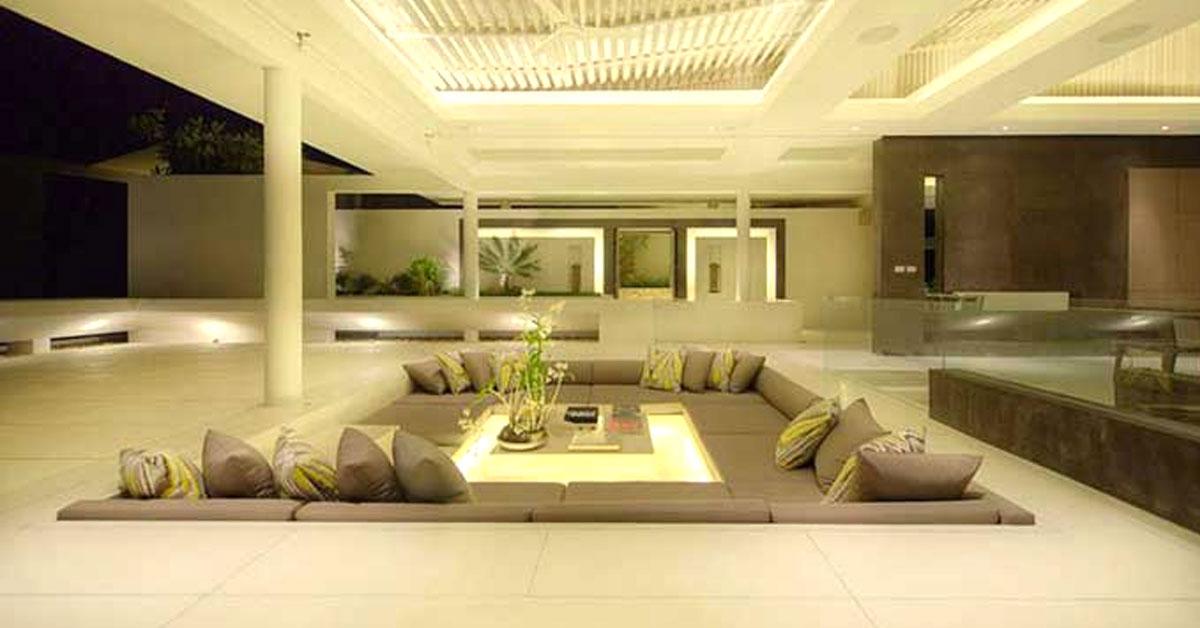 divani originali incorporato nel pavimento 20 idee a cui