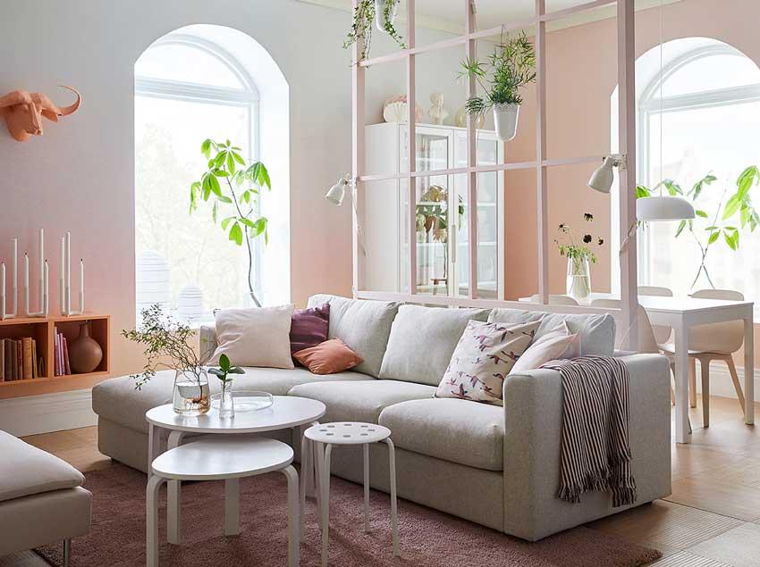 Arredare il soggiorno da IKEA: 24 bellissimi soggiorni catalogo 2019