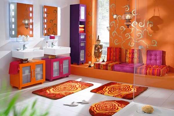 Bagno orientale 15 idee per arredare un bagno stile orientale - Arredo bagno colorato ...