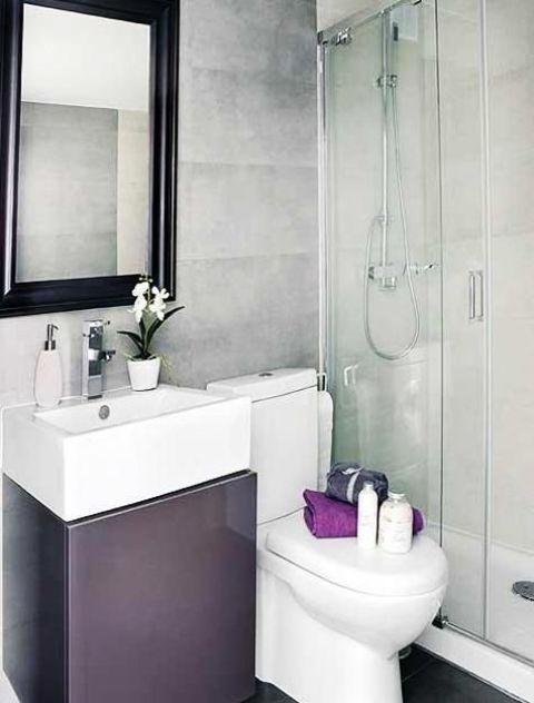 Arredare un bagno piccolo 26 idee da scoprire for Arredo bagno piccolo moderno