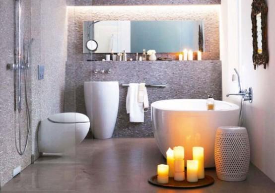 Bagno Piccolo Idee Design : idee per arredare un bagno piccolo 14 -