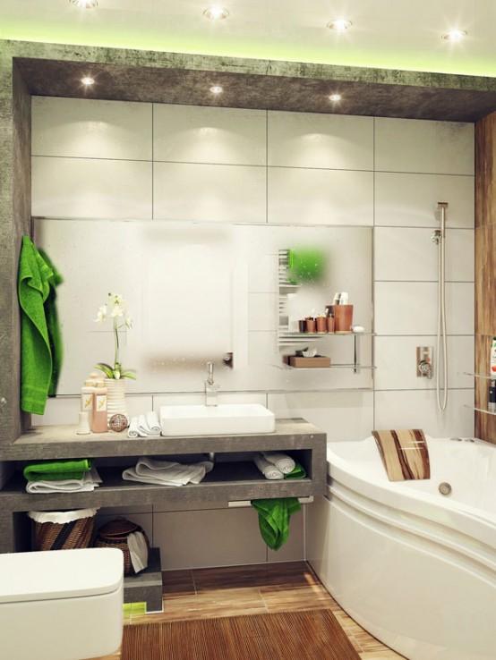 arredare un bagno piccolo. 26 idee da scoprire... - Bagno Piccolo Idee Darredo
