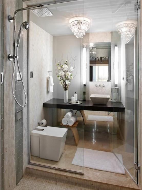Arredare un bagno piccolo 26 idee da scoprire - Arredare il bagno moderno ...