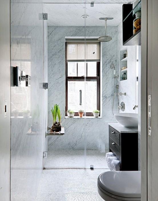 26 idee per arredare un bagno piccolo…