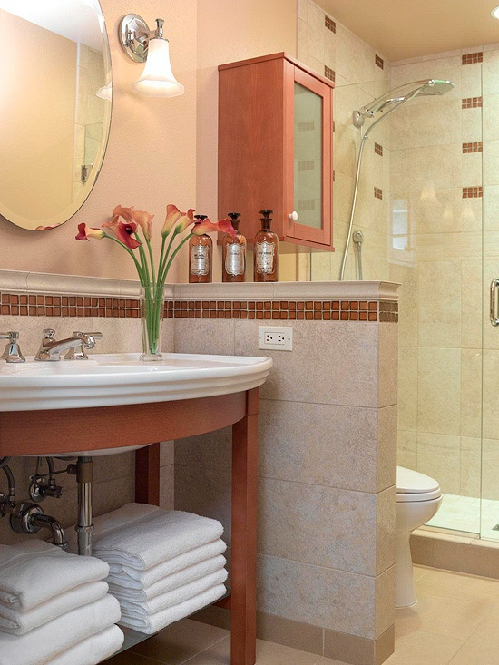 Arredare un bagno piccolo 26 idee da scoprire - Abbellire il bagno ...
