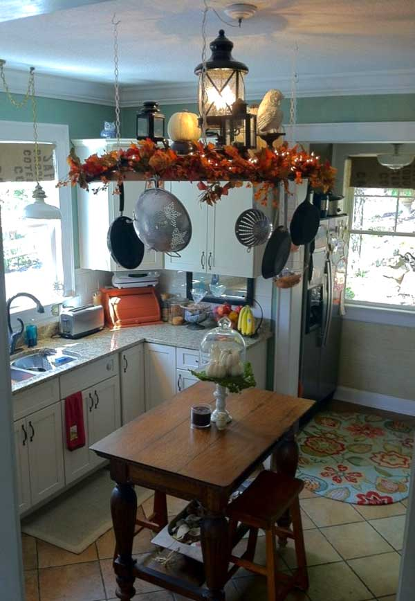 Decorazione cucina 35 idee per una decorazione autunnale - Decorare la cucina ...
