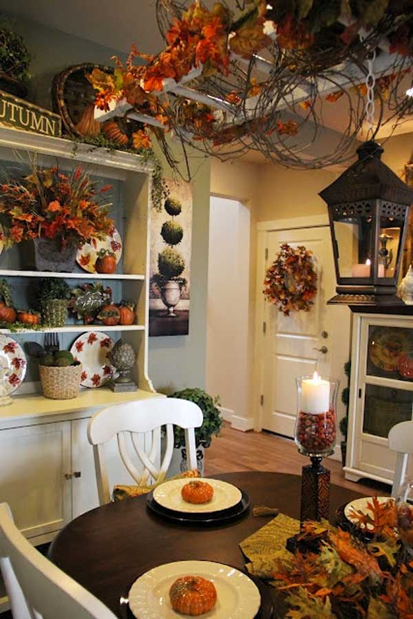 Fall Kitchen Decorating Ideas Part - 16: Ideas-to-decorate-in-autumn