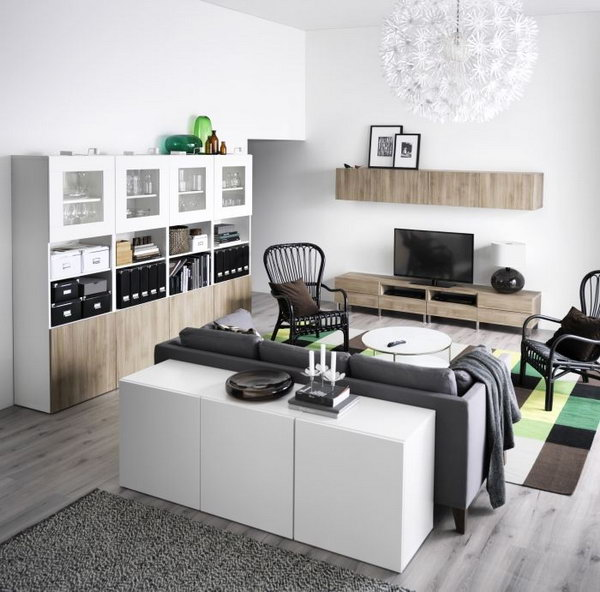 Decorating your living room from ikea here 39 s 24 beautiful for Ikea living rooms ideas