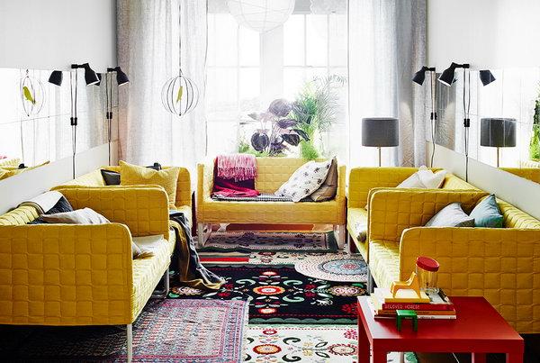 Salotto Moderno Ikea : Arredare il soggiorno da ikea ecco bellissimi soggiorni