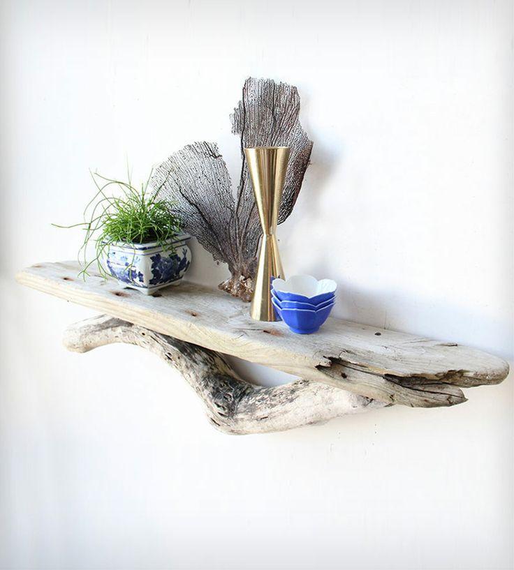 mensole legno di mare